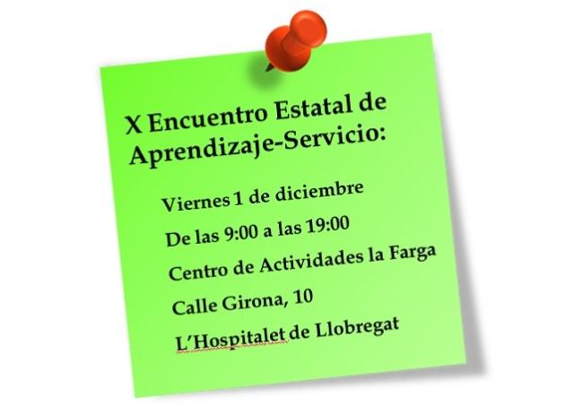 Postit cita X Encuentro ApS